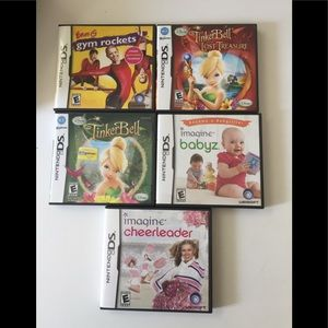 Nintendo DS Games all work in boxes with pamphlet